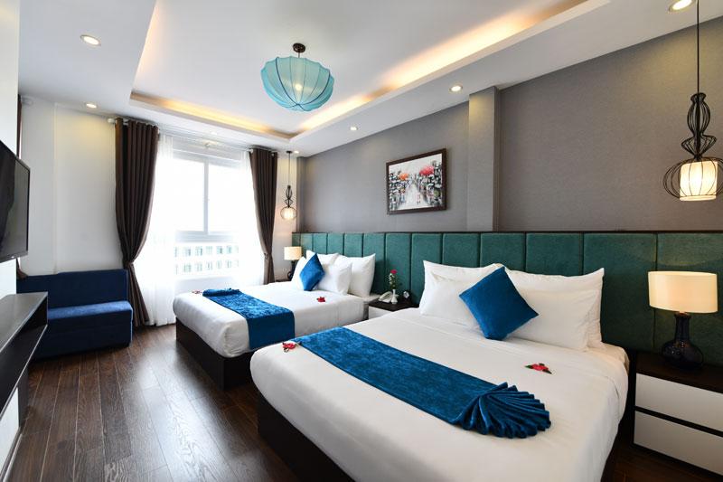 Hanoi Babylon Hotel 4 stars 25-27 Lo Su street, Hoan Kiem